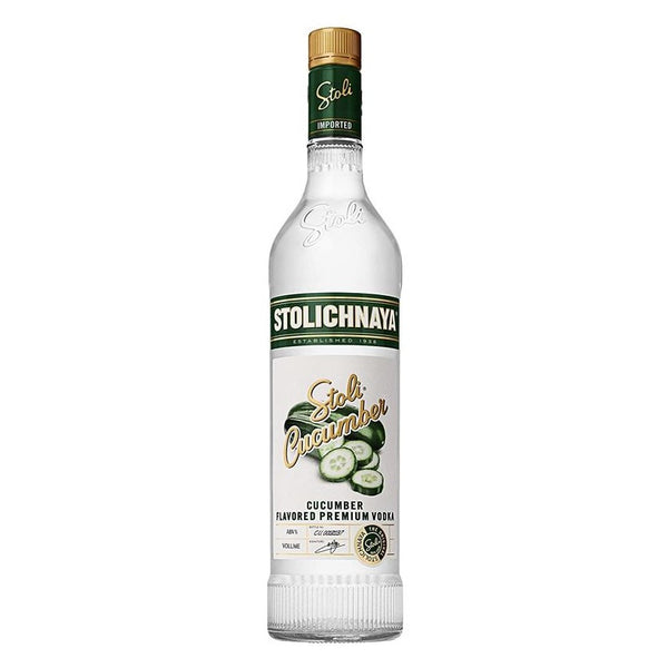 Stolichnaya Cucumber Vodka, 70 cl