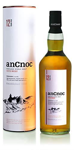 anCnoc 12 Year Old Highland Single Malt Whisky, 70 cl