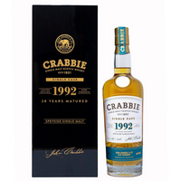 Crabbie 1992 Single Cask Speyside - 28YR, 70cl