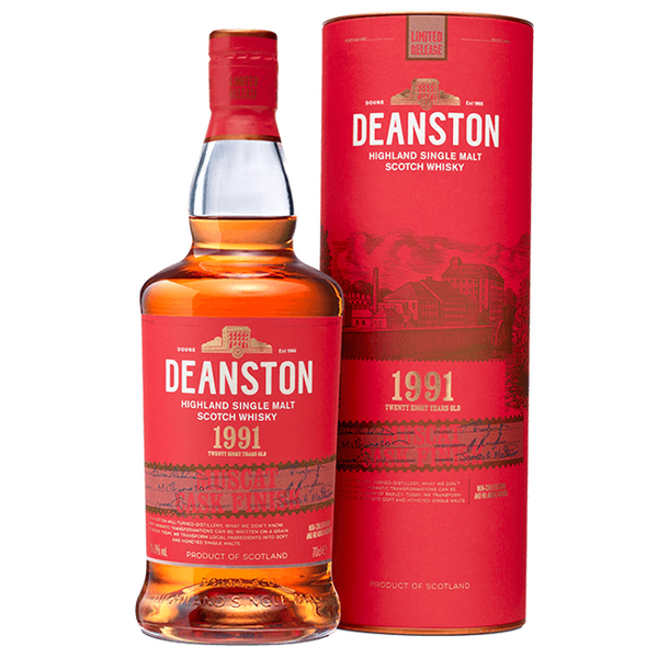 Deanston 1991 - 28 Yr Muscat Finish Malt Whisky, 70cl