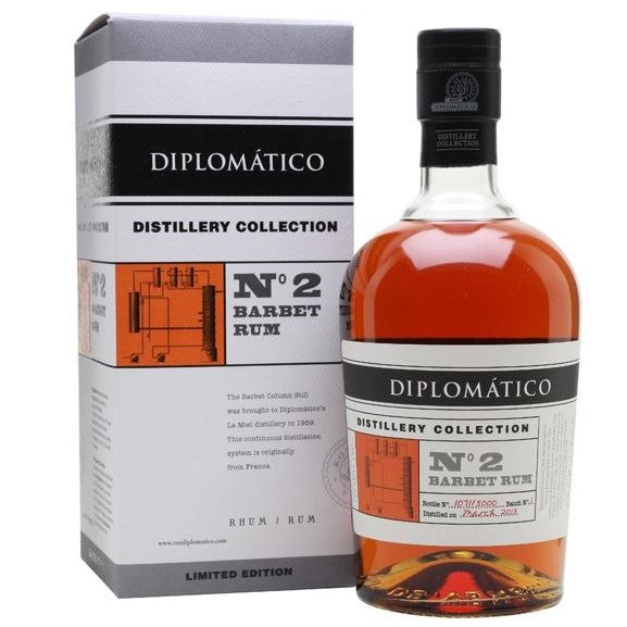 Diplomatico No. 2 Barbet Rum, 70cl