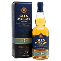 Glen Moray 12yr Malt Whisky, 70cl