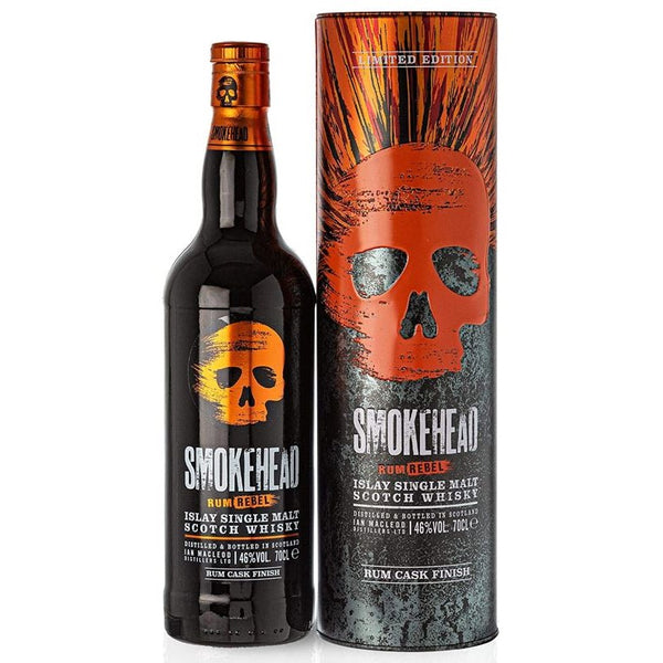 Smokehead Rum Rebel, 70cl