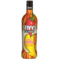 Stivys Hot Banana Liqueur, 70cl