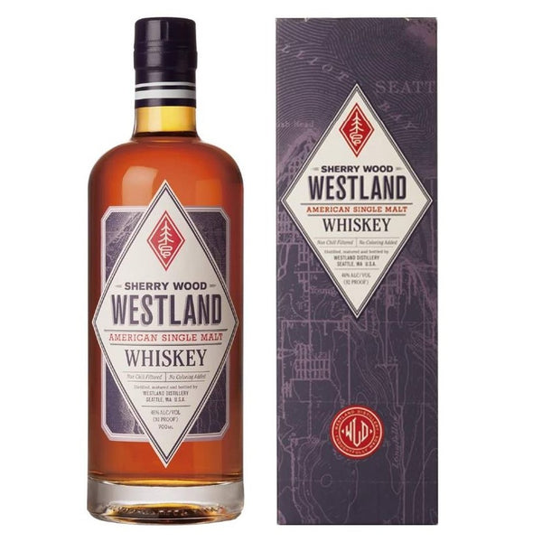 Westland American Sherry Wood Whiskey, 70cl