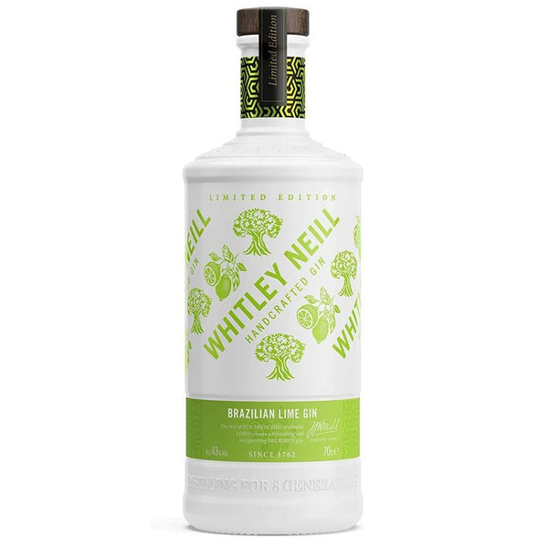 Whitley Neill Brazilian Lime Gin, 70cl (Limited)