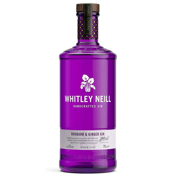 Whitley Neill Rhubarb & Ginger Gin, 70cl
