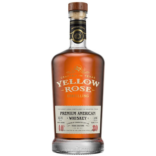 Yellow Rose Premium American Whisky, 70cl