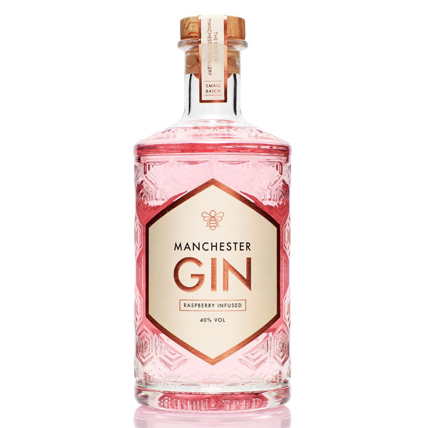 Manchester Gin Raspberry Infused, 50cl