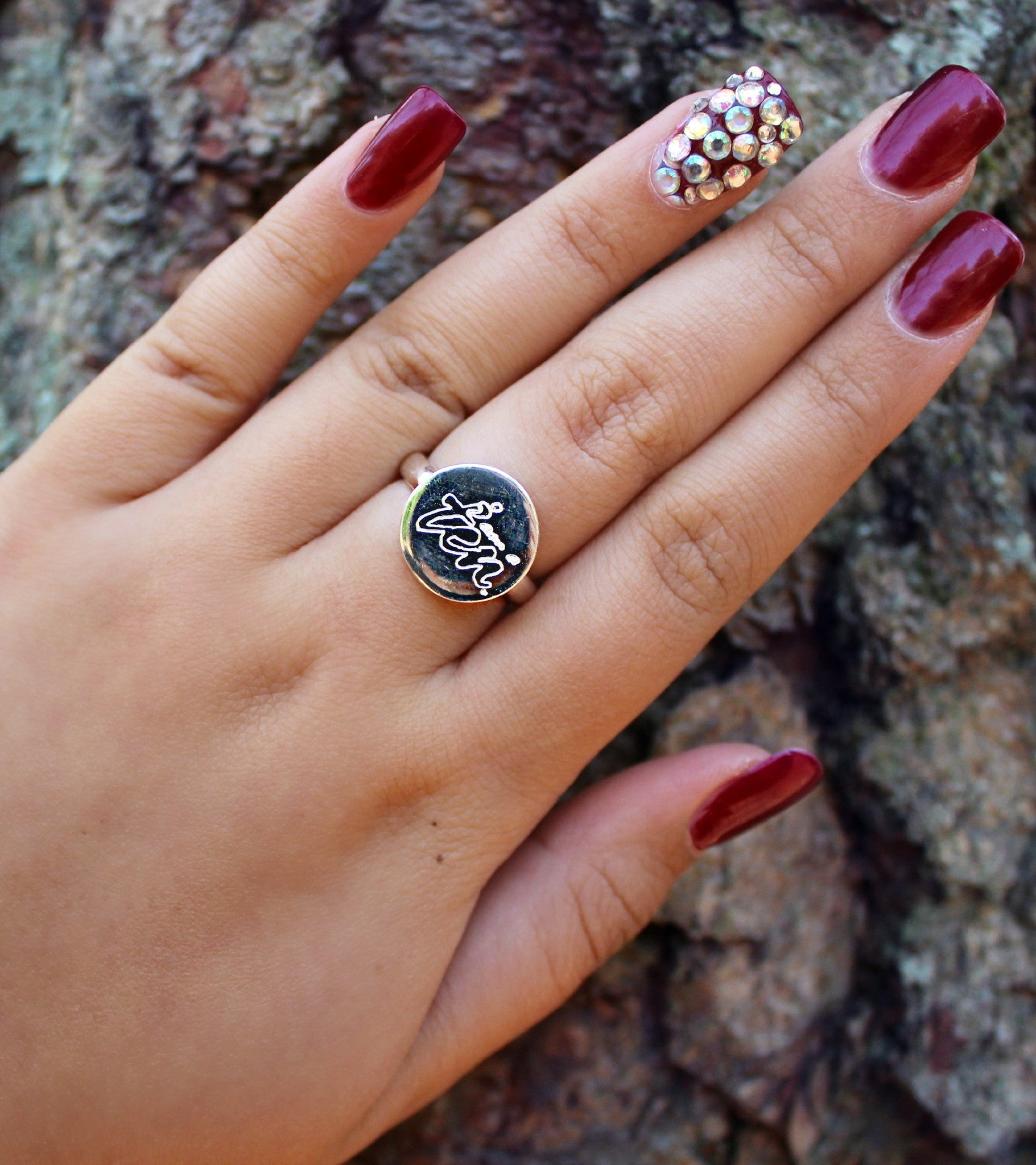 I AM A TEN - Sterling Silver Ring (Round)