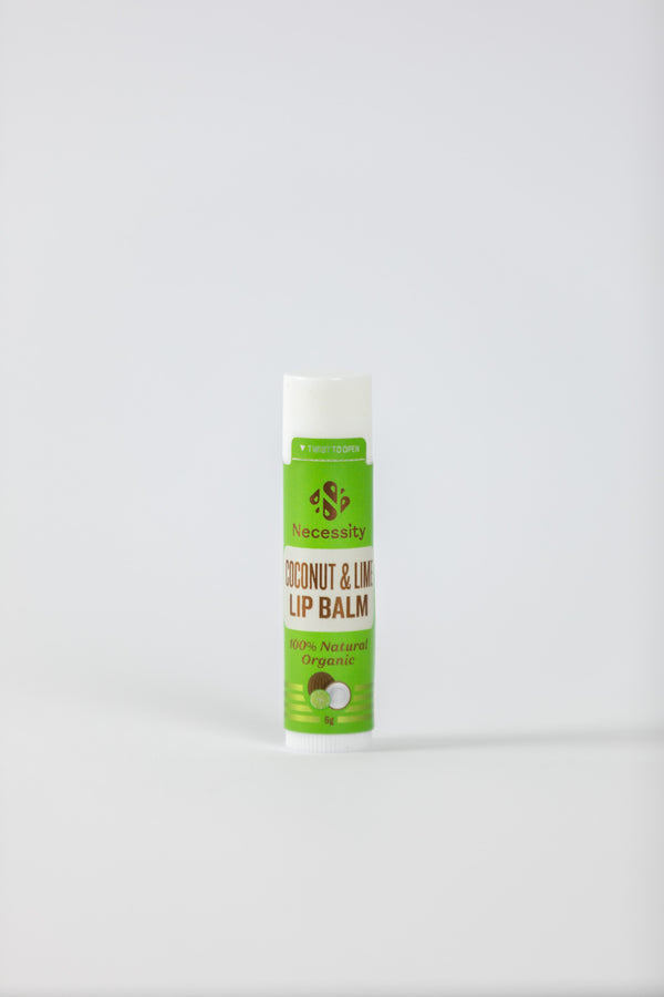 Organic Coconut & Lime Lip Balm 5g