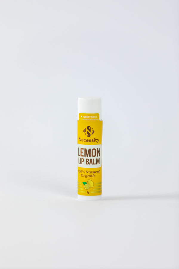 Organic Lemon Lip Balm 5g