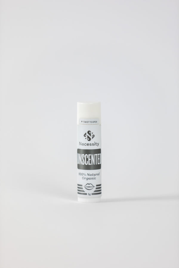 Organic Unscented Lip Balm 5g