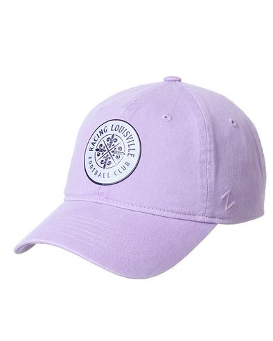 Racing Louisville FC Lavender Unstructured Hat