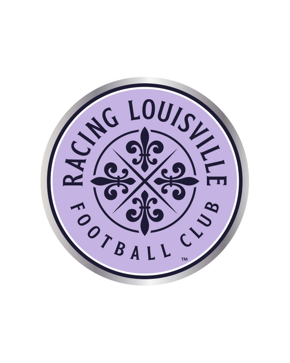 Racing Louisville FC Crest Lapel Pin