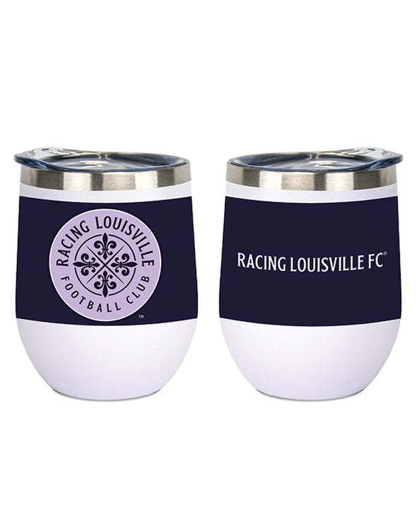 Racing Louisville FC Stemless Wine Tumbler