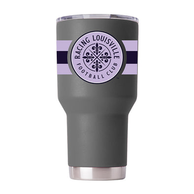 Racing Louisville FC 30 OZs Striped Tumbler