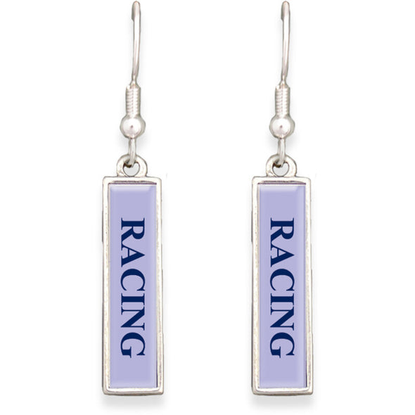 Racing Lindy Bar Earrings