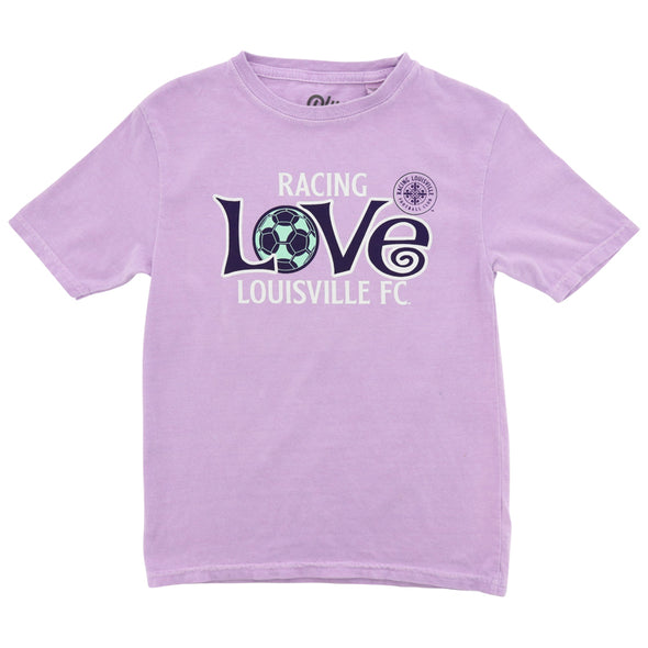 Racing Louisville FC Youth Curly Cue Tee