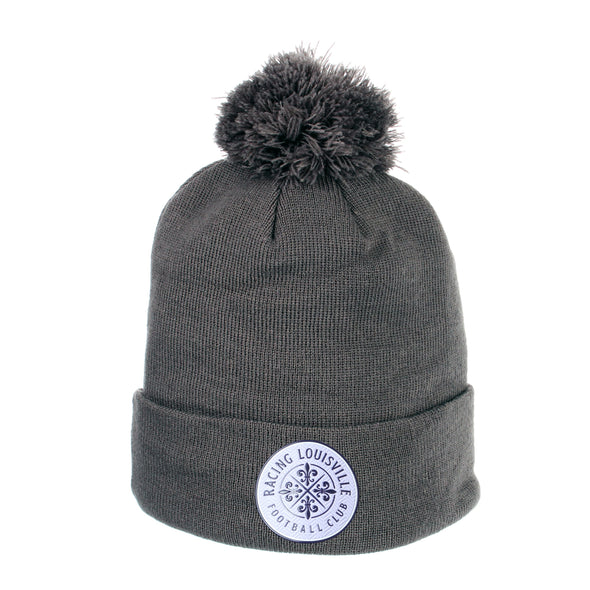 Racing Louisville FC Pom Knit Beanie