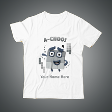 Load image into Gallery viewer, A-choo! personalised T