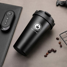 Load image into Gallery viewer, Coffee Cup Thermos Flask Double Wall Vacuum Insulated Travel Mug Stainless Steel Vacuum Mug,   coffee mug with lid and handle