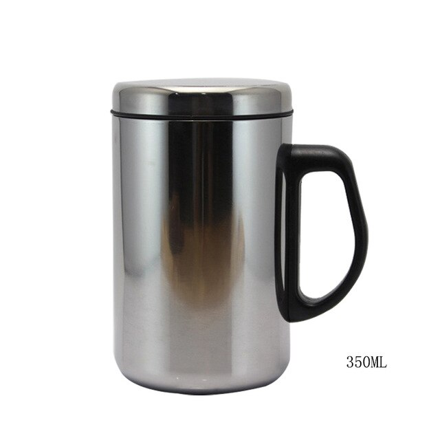 Stainless Steel Thermos Cups Insulated Tumbler Thermocup With Strainer Vacuum Flask Coffee Mugs Travel Bottle Mug 350/400/500ML