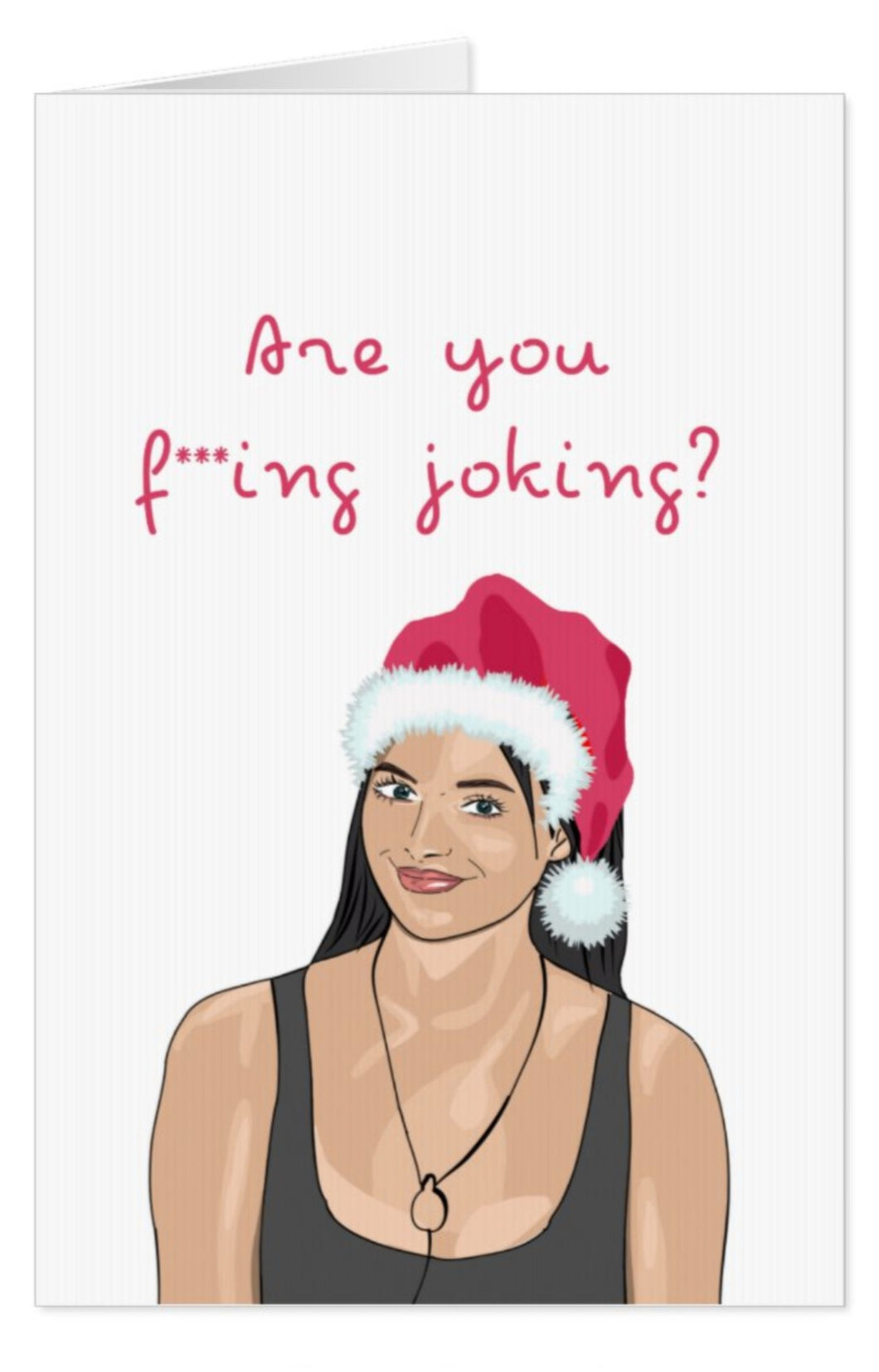 Maura Higgins Christmas Card