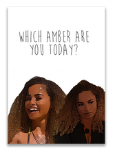 Load image into Gallery viewer, Amber Love Island Birthday Card