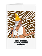 Load image into Gallery viewer, Megan Stallion Savage Birthday Card