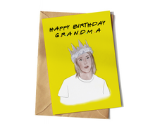 Load image into Gallery viewer, Friends Rachel Green, Happy Birthday Grandma