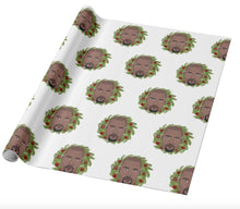 Load image into Gallery viewer, Kanye West Christmas Wrapping Paper | Gift Wrapper