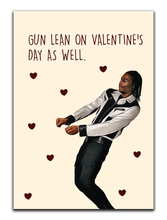 Load image into Gallery viewer, Gun Lean Valentines Card