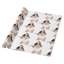 Load image into Gallery viewer, Lizzo Christmas Wrapping Paper | Gift Wrapper