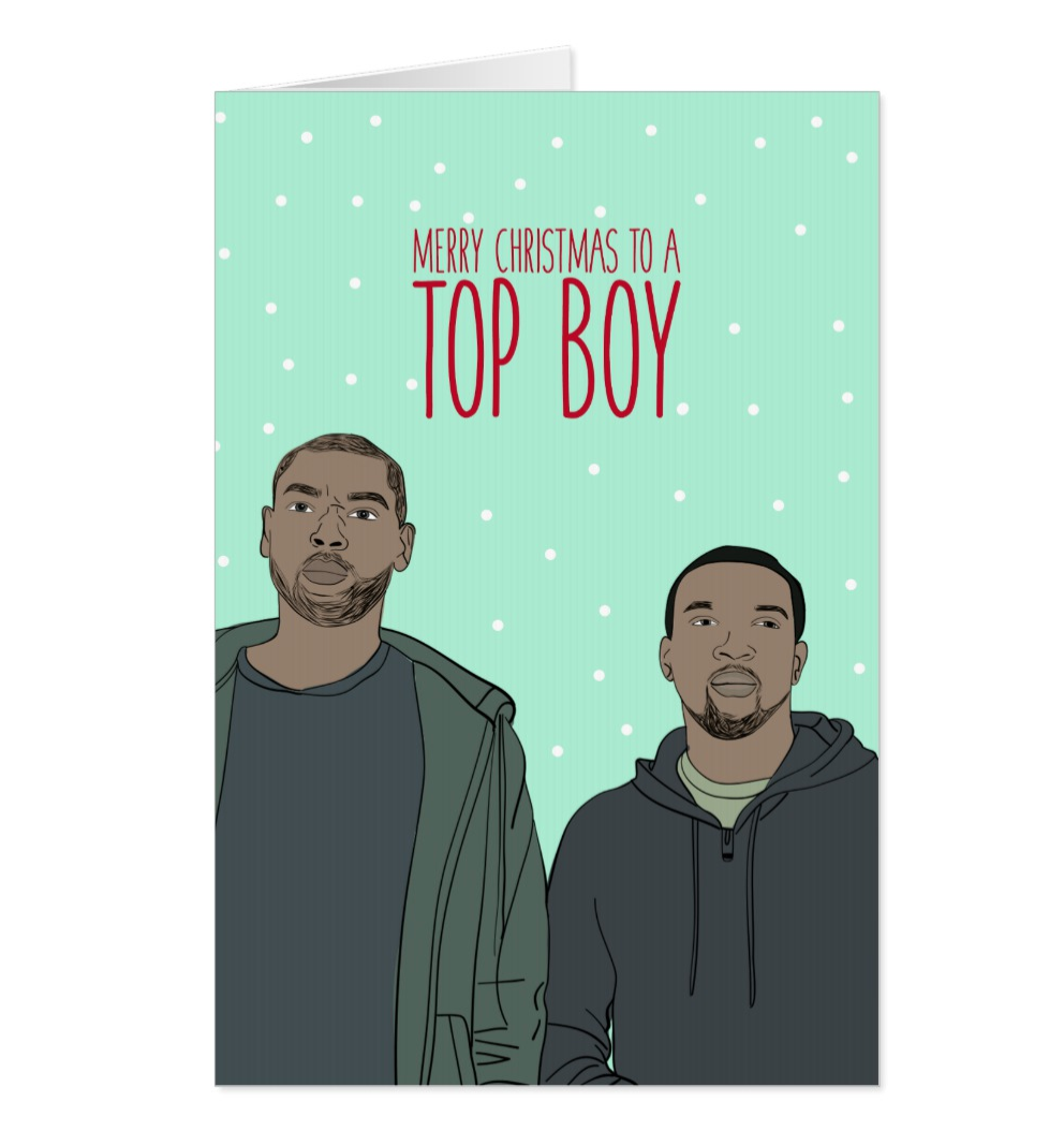 Top Boy Christmas Greeting card | Netflix Cards