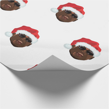 Load image into Gallery viewer, Ovie Love Island Christmas Wrapping Paper