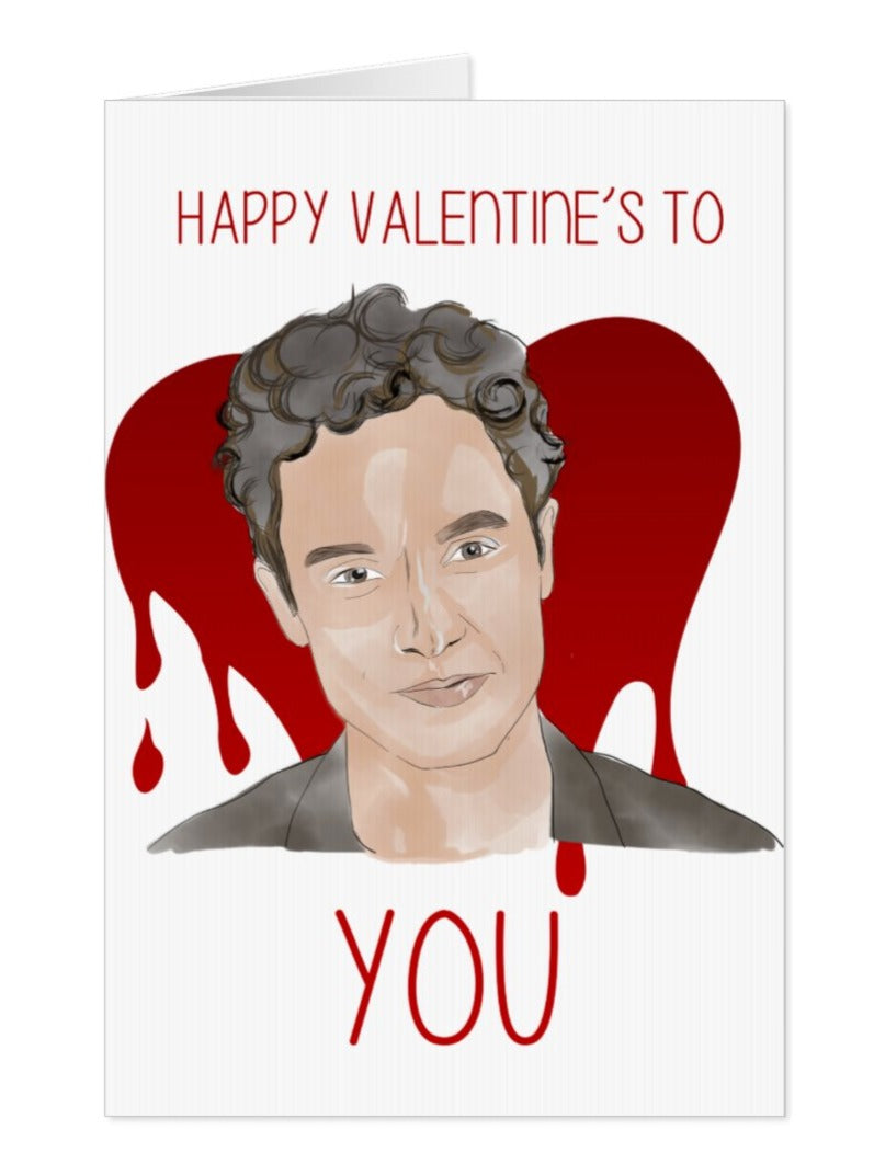 YOU Netflix Valentines Day Card, Happy Valentines Day To You