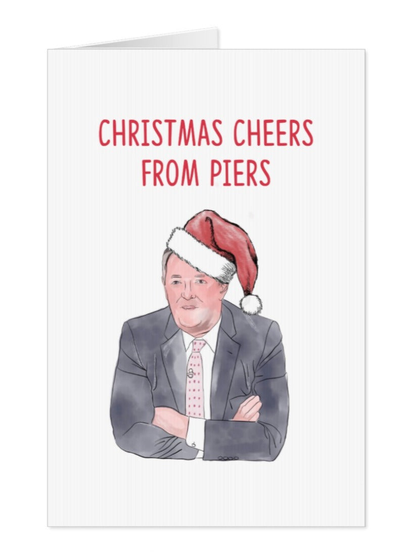 Piers Morgan Christmas Greeting Card