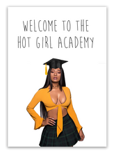 "Load image into Gallery viewer, Megan Stallion ""Hot Girl Academy"" Card"