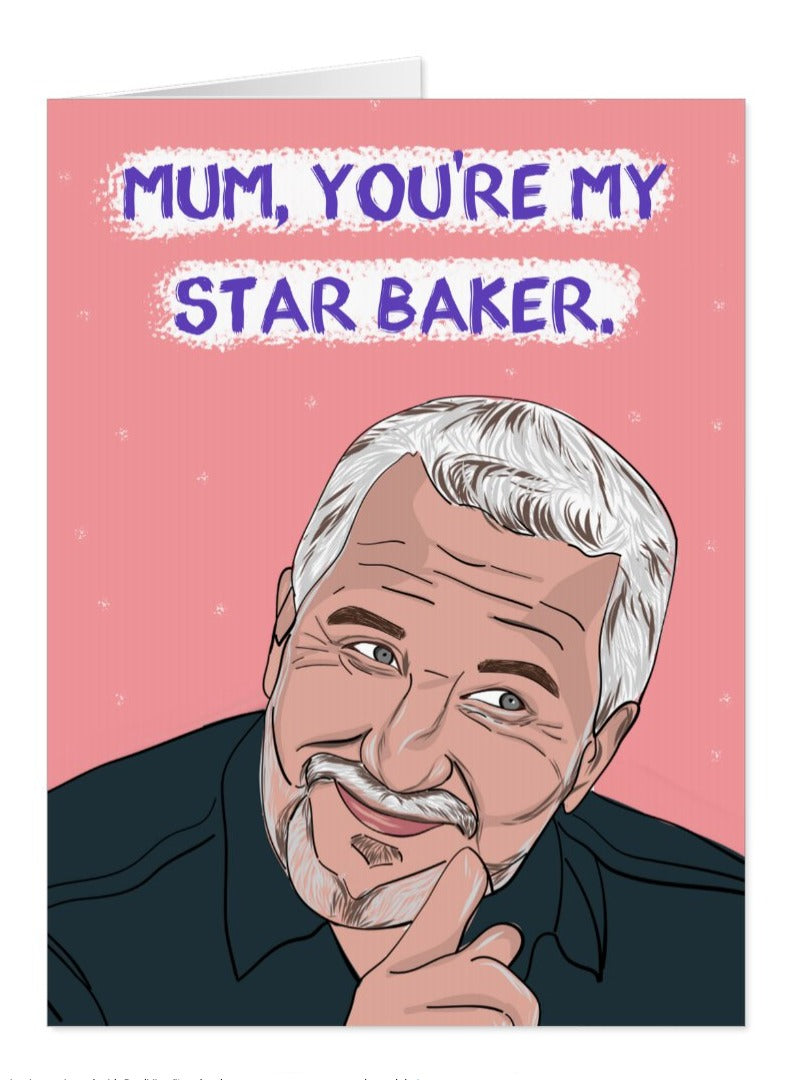 Paul Hollywood Bake Off Mother's Day Card