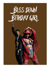 Load image into Gallery viewer, Cardi B & Blueface Birthday Card