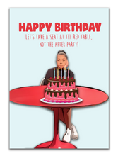 Load image into Gallery viewer, Jordyn Wood Red Table Talk Birthday Card