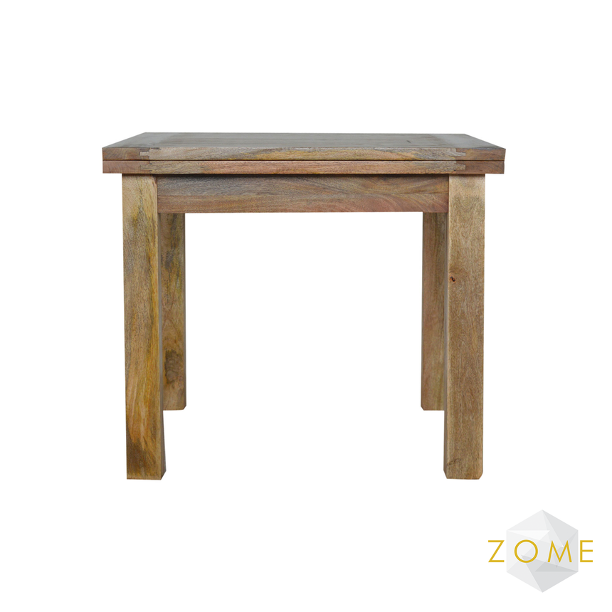 Abbas Extendable Butterfly Dining Table - Zome Home ltd