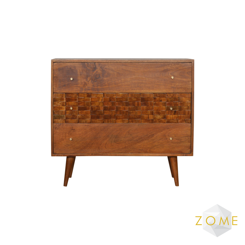 Amare 3 Drawer Chest - Zome Home ltd