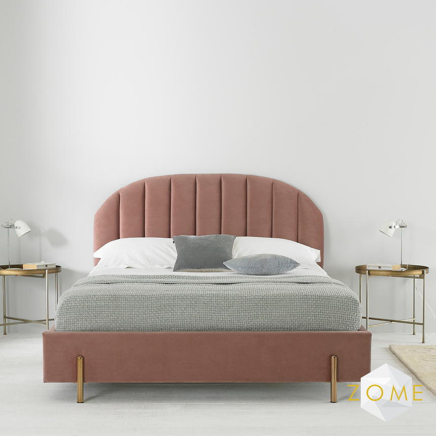 Crescent Bedframe - Zome Home ltd