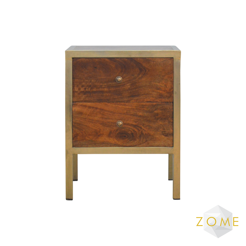 Dexter 2 Drawer Chest - Zome Home ltd