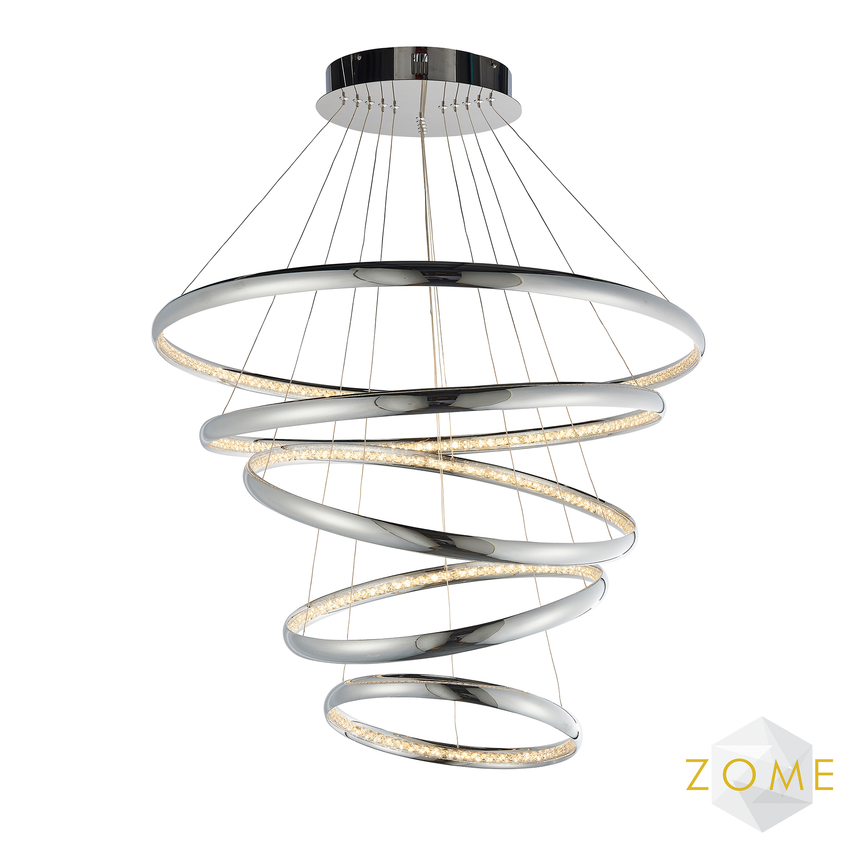 Halo Large Pendant Ceiling Light - Zome Home ltd