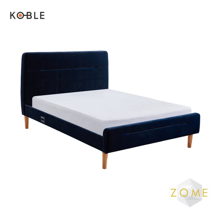 Nodd Smart Bed – Blue Velvet