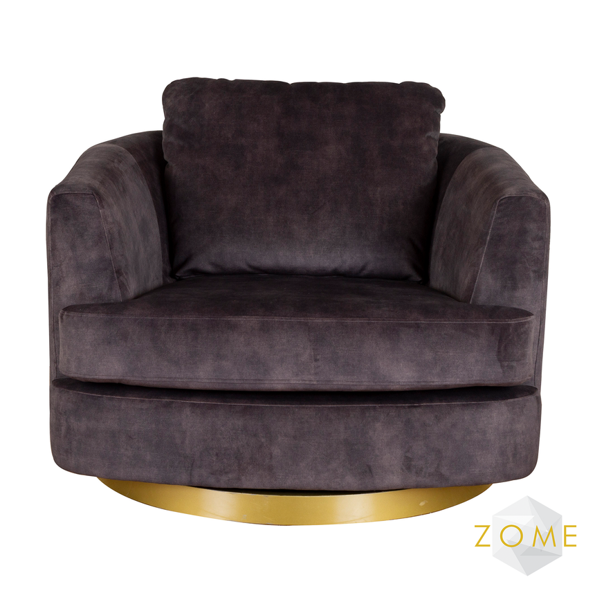 Sonata Swivel Chair - Zome Home ltd