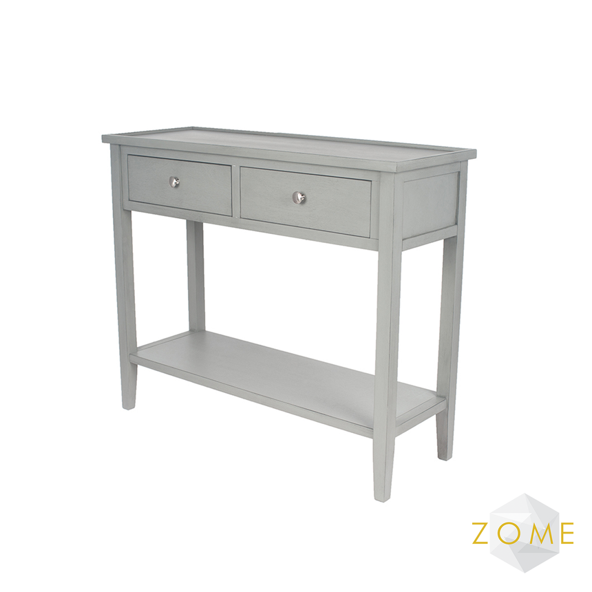 Versa Console Table - Grey - Zome Home ltd